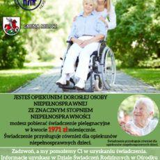 Świadczenie Pielęgnacyjne Info !!!